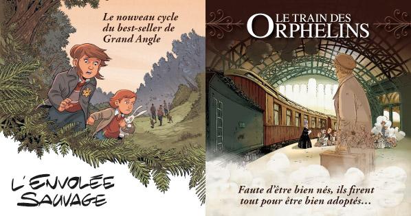 Envolee Sauvage Train des orphelins